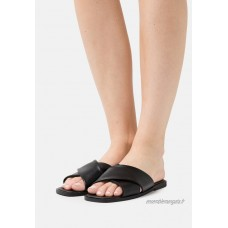 Rubi Shoes by Cotton On MACEY PADDED CROSSOVER Mules black/noir